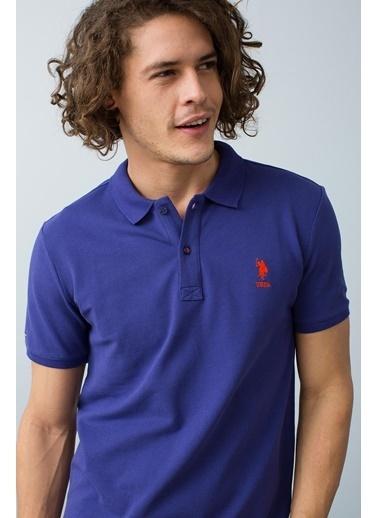 U.S.Polo Assn. Tişört Mor